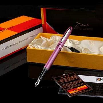 Bút ký Picasso máy 608F(RT) màu hồng cài bạc