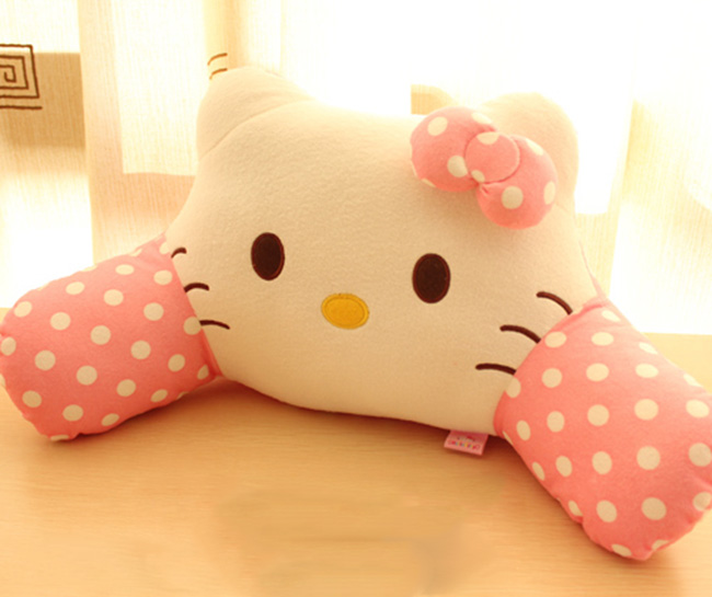 Gối đệm lưng Hello Kitty GO121