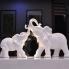Cặp voi sứ loại lớn