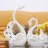 Đôi chim thiên nga sứ trắng vẻ vàng
