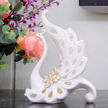 Chim công gốm sứ nghệ thuật (dáng 5)