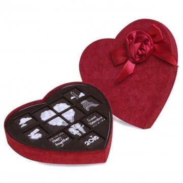 Socola tình yêu hộp tim lớn 12 viên V16-S31