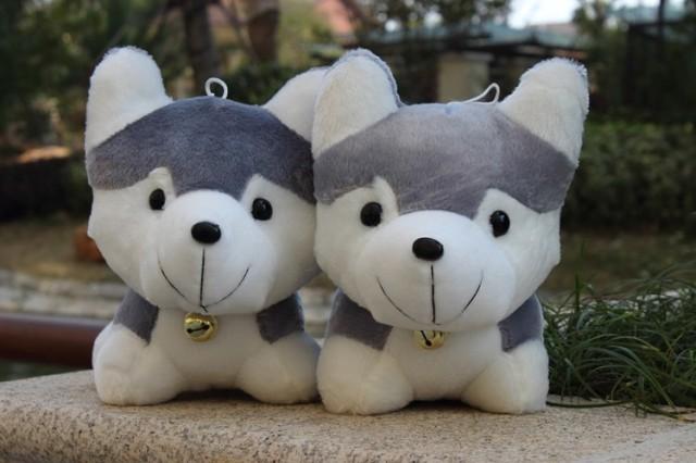 Chó bông đeo chuông GB440