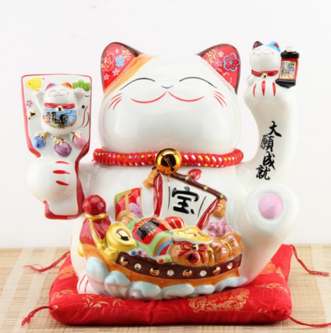 Mèo tay sứ 35107