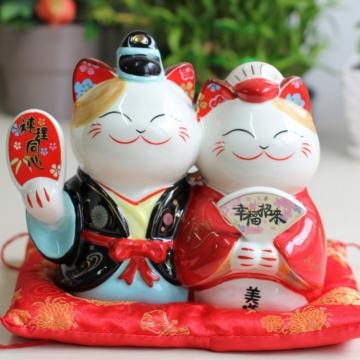 Mèo Maneki Neko nhật phu thê 35903