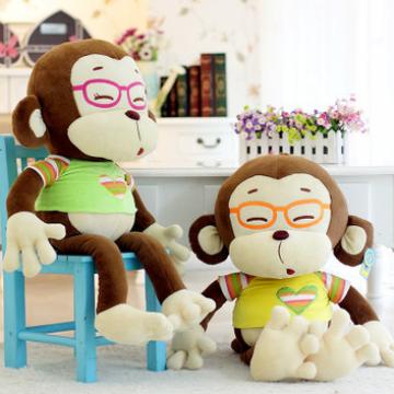 Khỉ mặc áo len đeo kiếng GB258