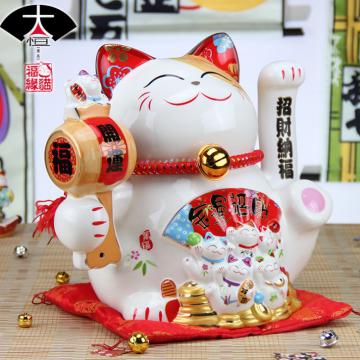 Mèo thần tài size lớn vẫy tay 35126