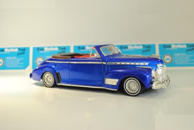 Ô tô mô hình Chevrolet Special Deluxe 1941 Blue tỉ lệ 1:24