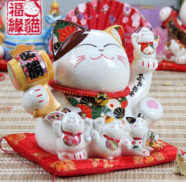 Mèo tay sứ 86114