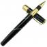 Bút Crocodile dạ bi đen cài vàng 316RB