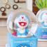Hộp nhạc quả cầu tuyết mèo Đô rê mon