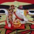 Mèo thần tài loại nhỏ đeo dây vàng 35312