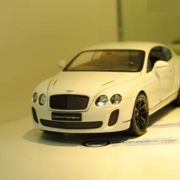 Ô tô mô hình Bentley Continental Supersports Couple màu trắng tỉ lệ 1:24