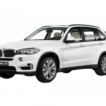 Ô tô mô hình BMW X5 màu trắng tỉ lệ 1:24