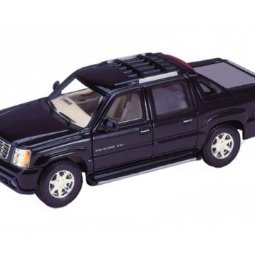 Ô tô mô hình Cadillac Escalade Ext 2002 màu đen tỉ lệ 1:24