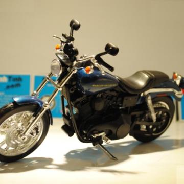Xe máy mô hình Harley Davidson Dyna Supper Glide Sport 2004 tỉ lệ 1:12