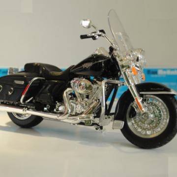 Xe máy mô hình Harley Davidson FLHRC Road King Classic đen 1:12