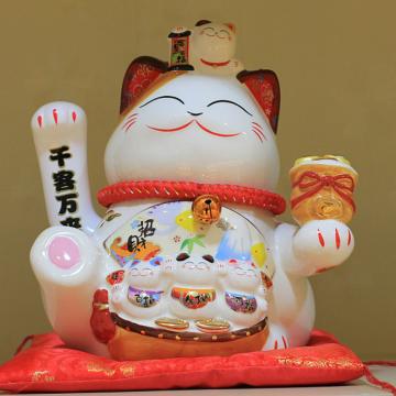 Mèo thần tài vẫy tay loại lớn 35862