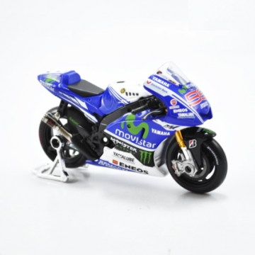 Xe máy mô hình Yamaha Moto GP Fiat 2014 tỉ lệ 1:18
