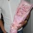 Hoa gấu bông chó Stitch hồng HGB024