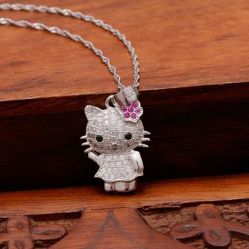 Dây chuyền bạc Hello Kitty DC120